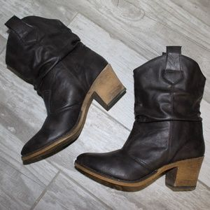 Charles Albert Brown Boots